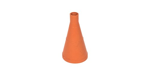 Molded Orange Rubber Conical Seal