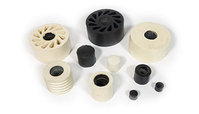 Custom Molded Rubber Rollers
