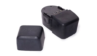 Molded Rubber Protective Cover for Cordless Battery