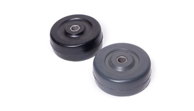 Molded Rubber Roller with Metal Sleeve