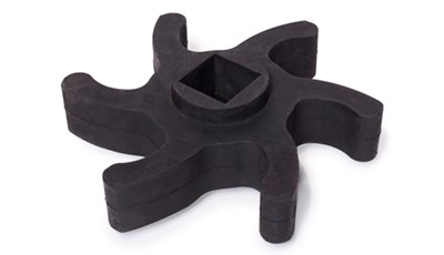 Molded Rubber Gear for Industrial Machine