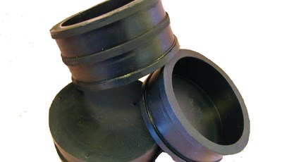 Molded Rubber Cap and Coupling