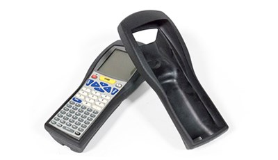 Rubber Molded Protective Cover for Barcode Scanner