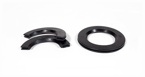 Wide Flange Custom Rubber Grommet