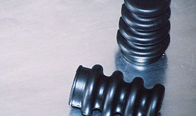 Rubber Molded Bellows for Wire Protection