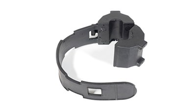 Molded Rubber Protective Cover with Integrated Strap