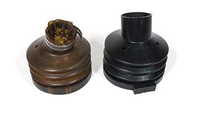 Molded Rubber Convoluted Bellows for Metered Gas Pump