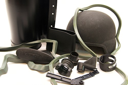 Rubber Military/Firearm Products