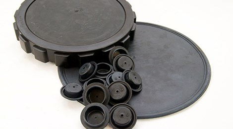 Molded Rubber Diaphragms