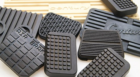 Molded Rubber Pedal Pads