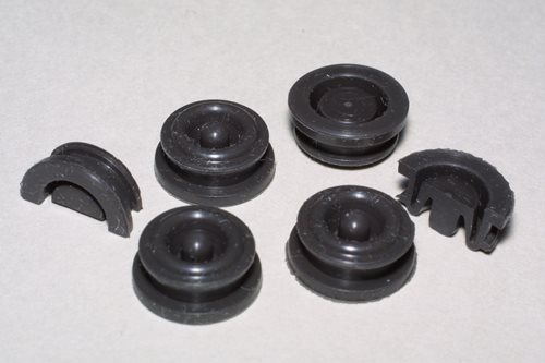 Molded Rubber Push Button Seal