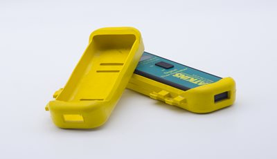 Molded Rubber Yellow Protective Case