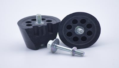 Rubber Molded Spare Tire Guide