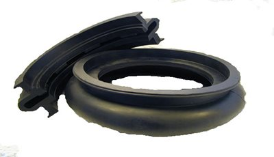 Custom Molded Rubber Seal with Severe Undercut